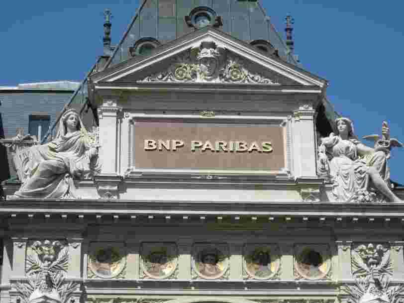 BNP Paribas recule en Bourse après la publication de ses résultats trimestriels