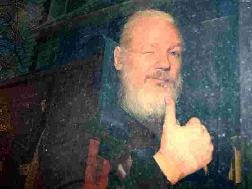 Ce que risque Julian Assange, le fondateur de WikiLeaks, arrêté à Londres