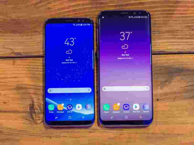 Voici le nouveau smartphone de Samsung, le Galaxy S8