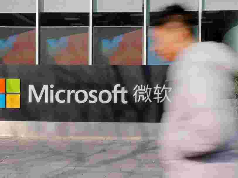 La Chine bloque le moteur de recherche Bing de Microsoft