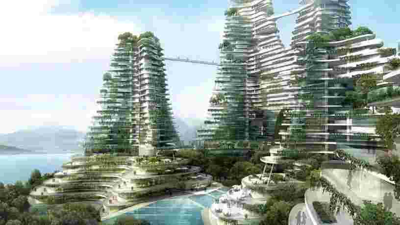 Ces villes à plusieurs milliards de dollars tout droit sorties de la science-fiction devraient bientôt devenir réalité