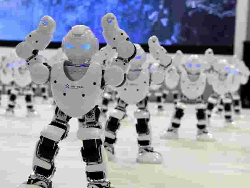 Les robots pourraient remplacer jusqu'à 10.000 employés chez Citi
