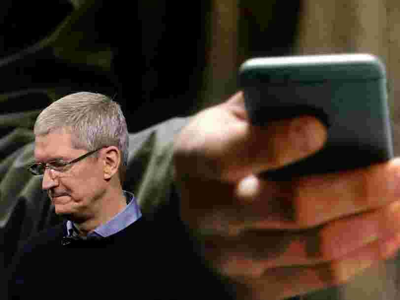 Apple envisage de ralentir le rythme de ses recrutements dans certains métiers en raison de l'essoufflement des ventes d'iPhones