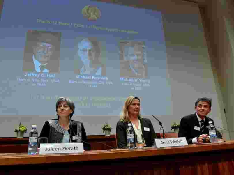 3 chercheurs américains qui travaillent sur l'horloge biologique ont reçu le prix Nobel de médecine