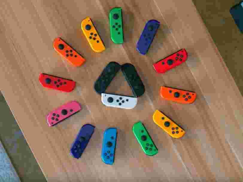 Les manettes de la Nintendo Switch ont un problème, et les joueurs en ont marre