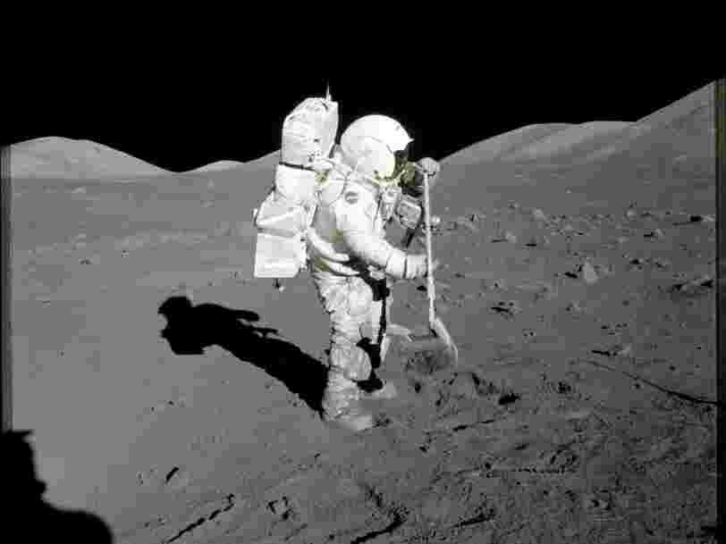 Aucun homme n'est allé sur la Lune depuis plus de 45 ans et les raisons sont surtout politiques