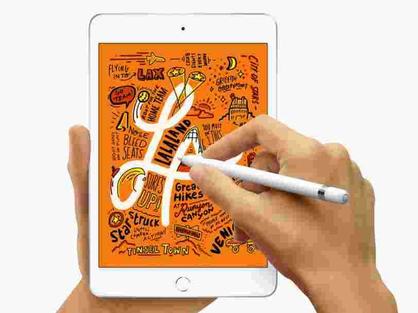 Surprise, Apple lance deux nouveaux iPads à une semaine de sa keynote