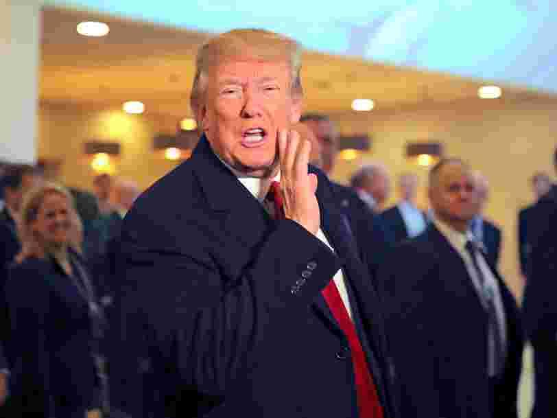 Donald Trump à Davos: Je suis le 'cheerleader' de l'Amérique