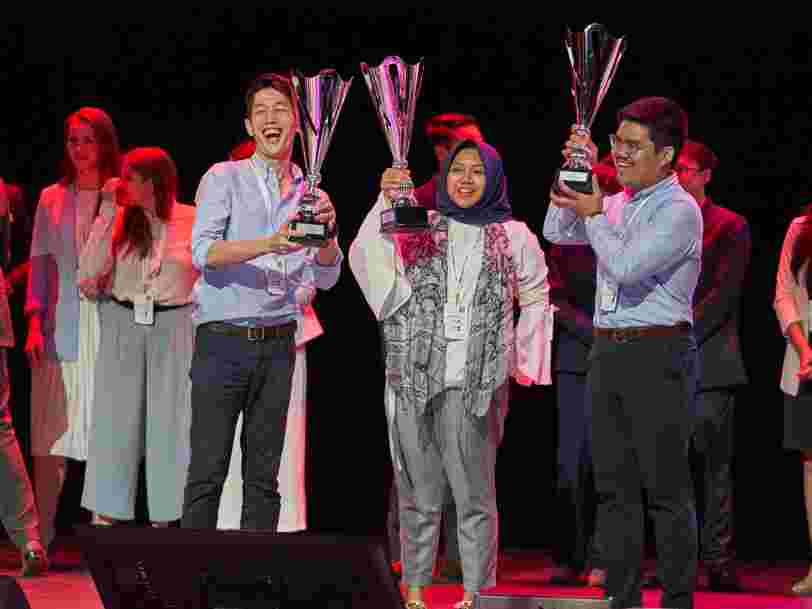 3 questions aux vainqueurs du concours d'innovation L'Oréal Brandstorm 2019