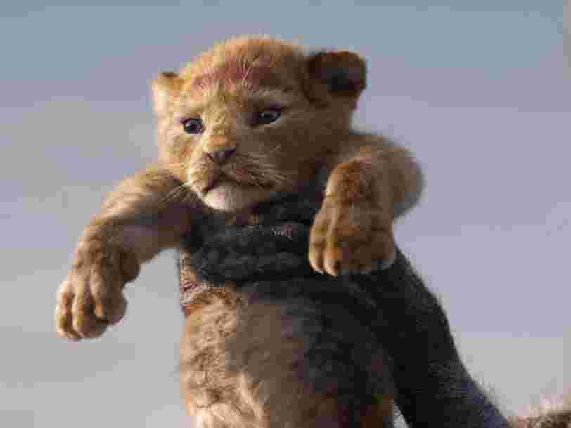 'Le Roi Lion' de Disney devient le plus gros succès de l'année au box-office français, et détrône 'Avengers : Endgame'
