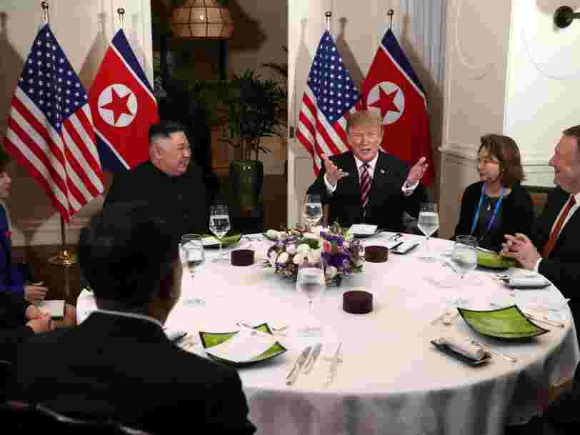 La Corée du Nord aurait entamé la reconstruction d'un site de lancement de missiles juste après le sommet Donald Trump - Kim Jong-un