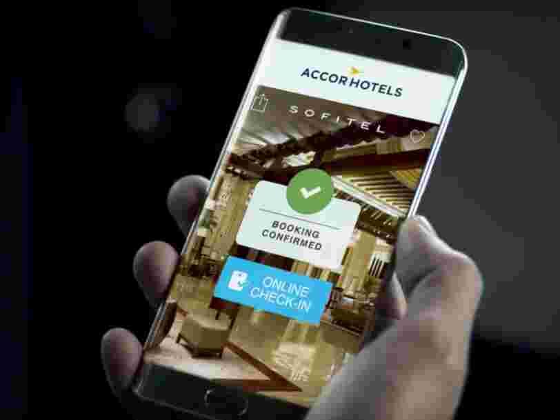 AccorHotels vient de dépenser 100M€ pour offrir encore plus de services en ligne