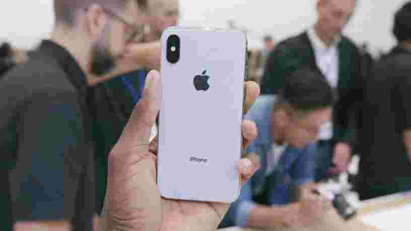 L'iPhone X s'est vendu en quelques minutes en précommande sur Apple.com pour une livraison le jour de sa sortie