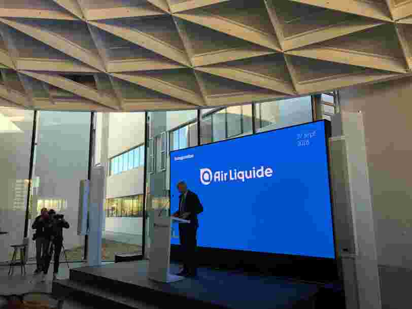 Le PDG d'Air Liquide dit que travailler avec des startups fait gagner 3 à 5 ans à son entreprise de 20 Mds€