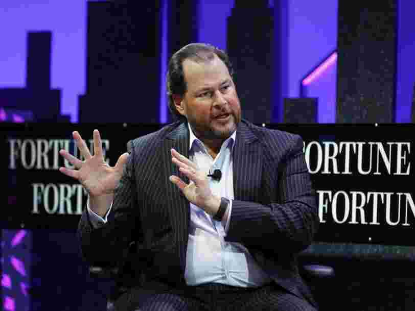 Salesforce a pour objectif d'atteindre 20 Mds$ de chiffre d'affaires en 2022