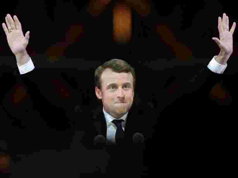 Emmanuel Macron s'offre une large victoire à l'élection présidentielle 2017