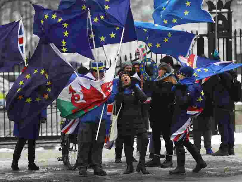 Un Brexit sans accord coûterait 35 Mds€ aux entreprises de l'UE