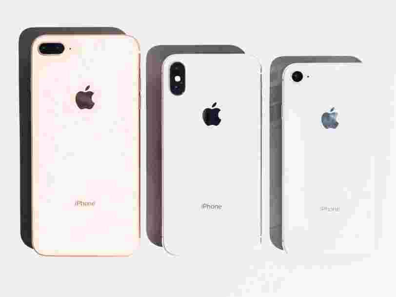 Une étude comparative suggère qu'Apple ralentit les iPhones qui ont des batteries plus anciennes