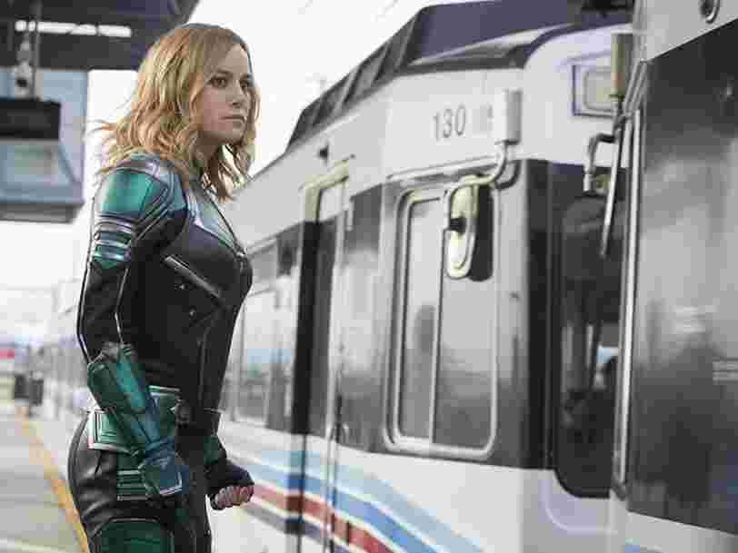 Captain Marvel sort au cinéma aujourd'hui. La super-héroïne a fort à faire pour dépasser les super-héros hommes les plus rentables