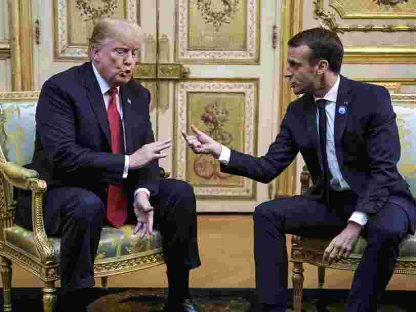 Donald Trump envisage une taxe de 100% sur le vin français