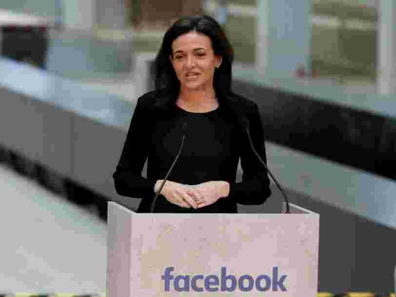 Sheryl Sandberg dit que le campus pour startups de Xavier Niel a des points communs avec le siège de Facebook en Californie