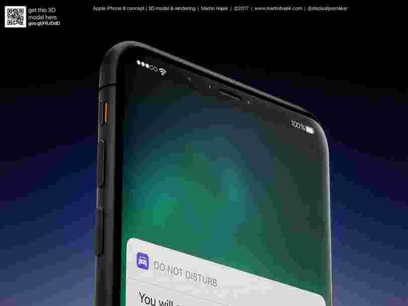 Voici tout ce que l'on sait sur l'iPhone 8