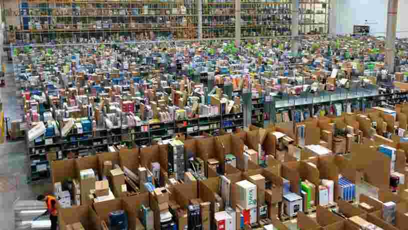 Amazon prévoit de construire un gigantesque entrepôt en France et va créer 2000 emplois