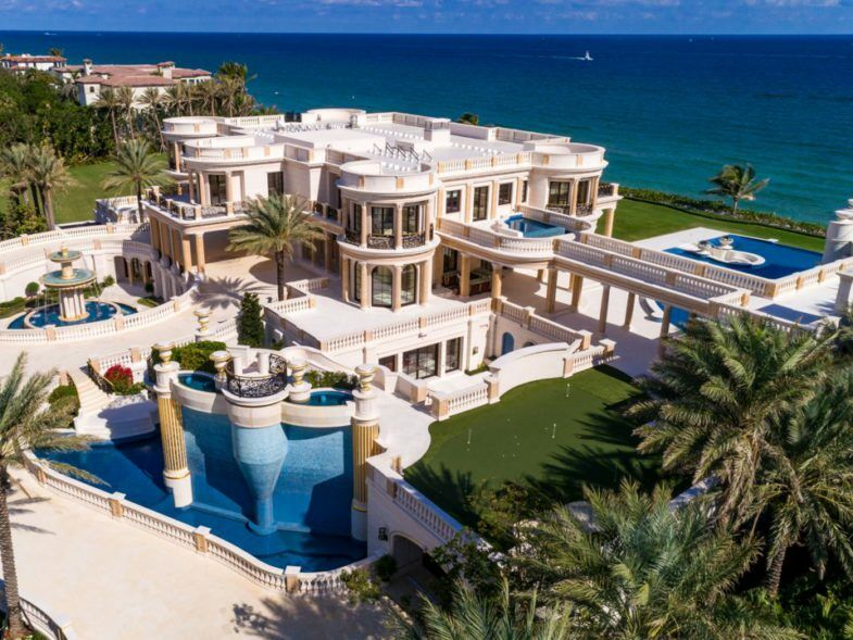 Voici Les 6 Maisons Les Plus Extravagantes Du Monde En Californie En Floride Ou En Chine