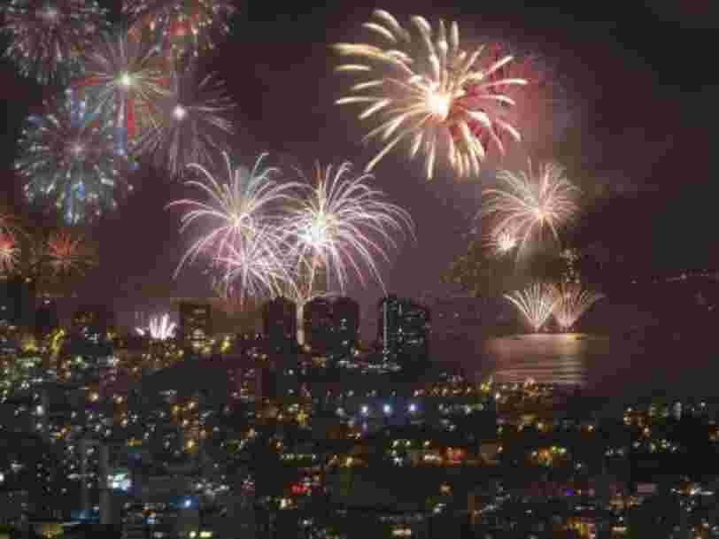 10 lieux qui valent la peine d'être visités pour le réveillon du Nouvel an