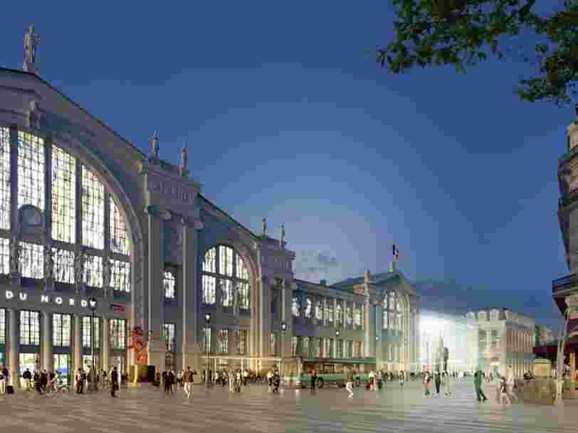 La SNCF a choisi Auchan pour rénover et exploiter la gare du Nord — pour que les travaux aillent plus vite