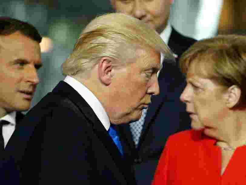 Trump semble préparé à déclencher une guerre commerciale avec l'Union européenne