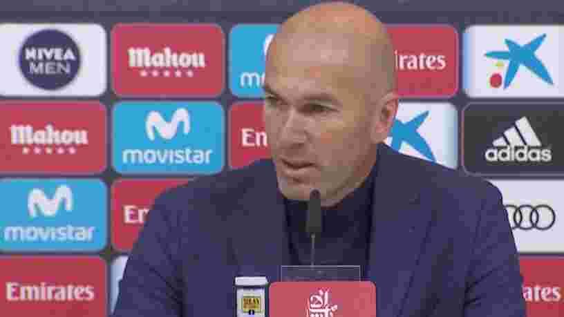 Zinédine Zidane démissionne de son poste d'entraîneur du Real Madrid