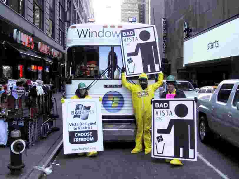 Microsoft enterre Windows Vista, le système d'exploitation que tout le monde aimait détester