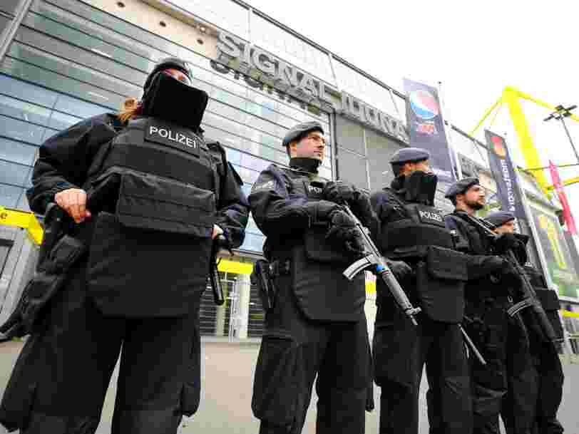 Attaque du bus du Borussia Dortmund: un suspect ayant des liens avec l'islamisme radical a été interpellé par la police allemande