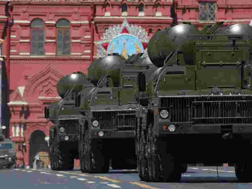 La Russie a voulu livrer à la Chine son meilleur système de défense antimissile. Mais il a disparu dans la Manche.