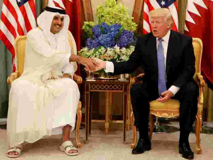 Des informations fabriquées par des Russes auraient contribué à causer la crise diplomatique autour du Qatar