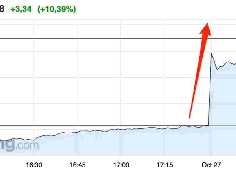 Gemalto bondit en Bourse après avoir annoncé une hausse de son chiffre d'affaires au T3
