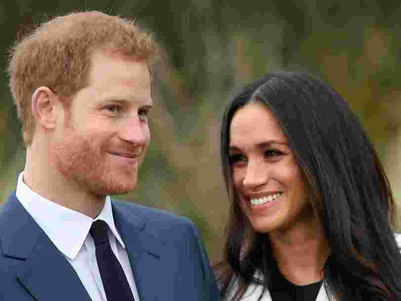 Le mariage du prince Harry d'Angleterre et de Meghan Markle est déjà perçu comme une aubaine pour l'économie britannique