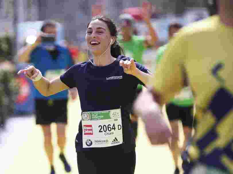 Voici ce qui se passe dans notre corps quand on court un marathon