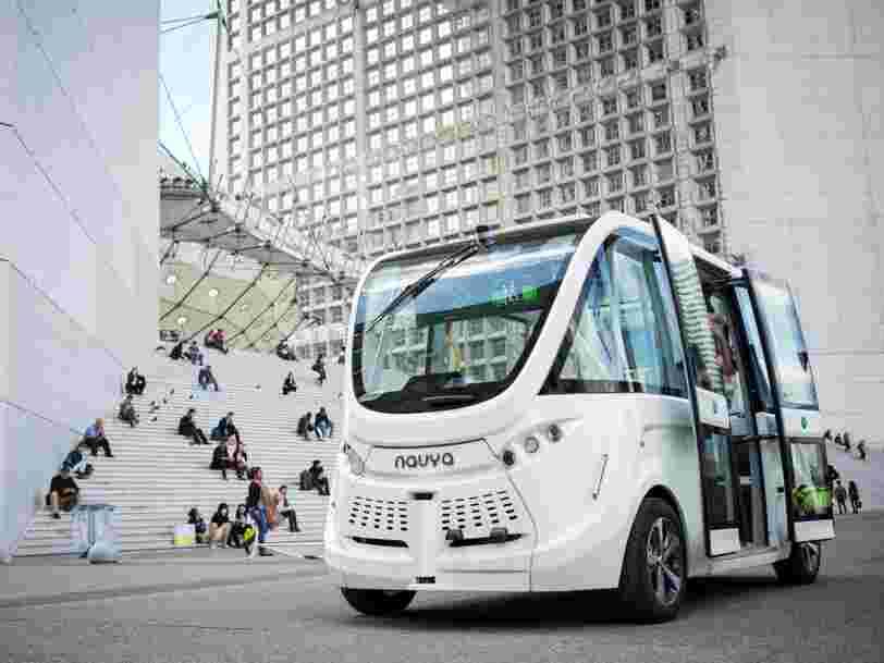 Le gouvernement lance 16 expérimentations de voitures autonomes sur les routes de France