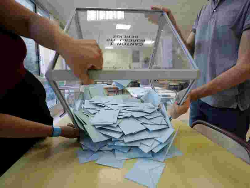 Il y a 1 électeur sur 2 qui ne s'est pas déplacé pour désigner son député — c'est historique