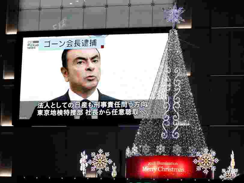 Nissan destitue Carlos Ghosn de son poste de président contre l'avis de Renault qui voulait attendre