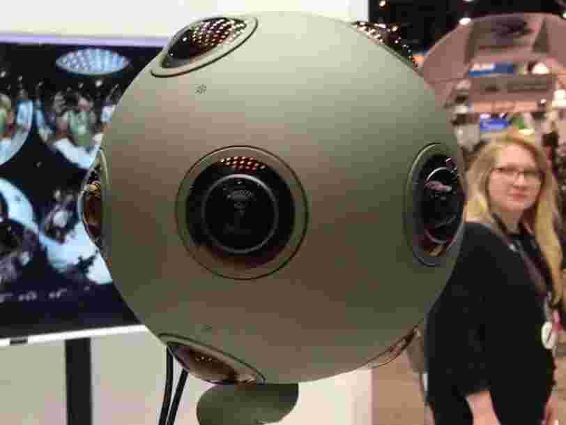 Nokia supprime 310 emplois et arrête de développer sa caméra de réalité virtuelle à 23.500€