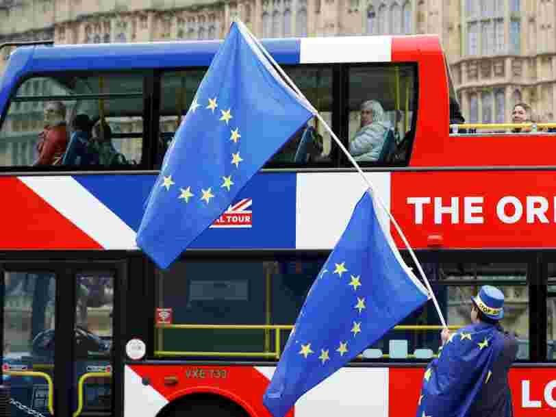 Vous aurez besoin de 2 ans et de 80 euros pour rester vivre au Royaume-Uni après le Brexit