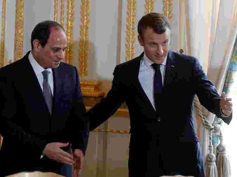 Emmanuel Macron s'apprête à recevoir plusieurs investisseurs étrangers au cours d'un dîner à l'Élysée