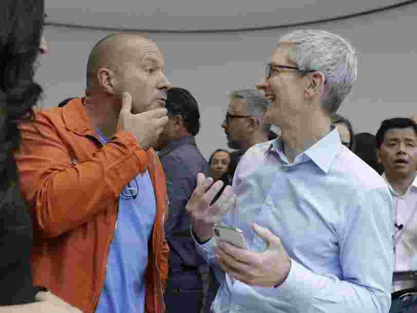 Oubliez l'iPhone X — Apple pourrait lancer un nouvel iPhone avec un écran plus large cette année vendu 550$