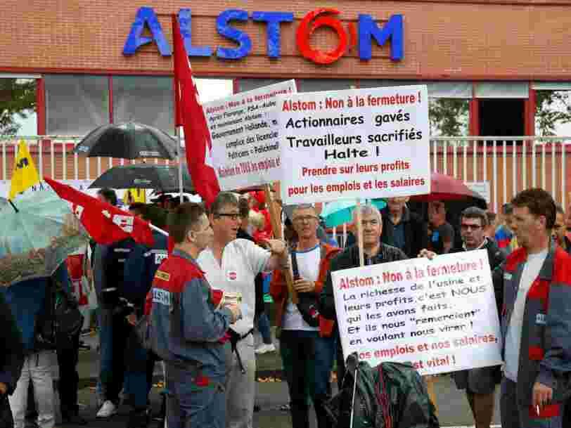 Le PDG d'Alstom livre aux députés une explication simple pour fermer le site de Belfort