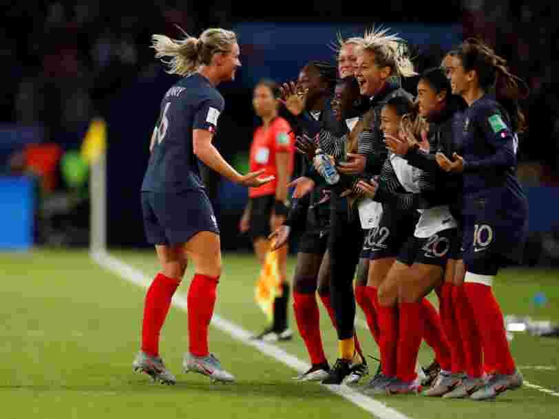 Grâce à ses tarifs pubs, TF1 pourrait gagner de l'argent avec la Coupe du monde féminine