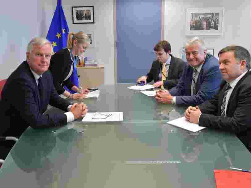 BARNIER: L'Europe n'est 'pas sûre' de parvenir à un accord sur le Brexit