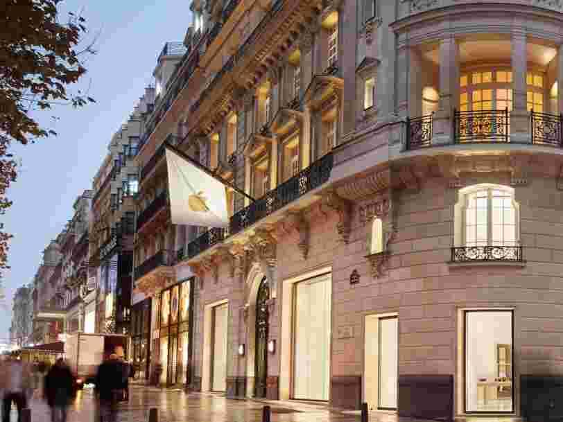 Apple s'est mis d'accord avec le fisc français pour payer des arriérés d'impôts — leur montant atteindrait 500 M€